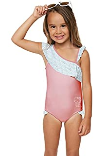 7d1a2209c7 O'Neill Kids Baby Girl's Hello Kitty¿ Shelly One-Piece Swimsuit (Toddler