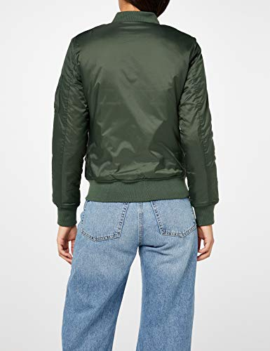 Blouson Vert Basic Femme olive Jacket Grün Urban Bomber Ladies 176 Classics waqfXR0