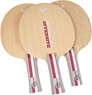Butterfly Boll Offensive Table Tennis Blade - 5-ply All-Wood Blade - Boll Offensive Blade - Professional Table