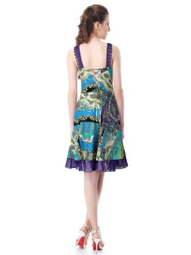 Ever-Pretty HE27132BL16 - Vestido para mujer Azul