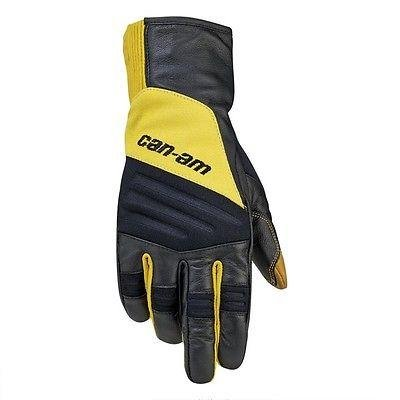 CAN-AM MENS ADVENTURE GLOVES, YELLOW, X-LARGE, 2864071210