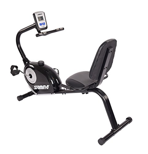 Stamina Magnetic Recumbent Exercise - Bike Elite Recumbent