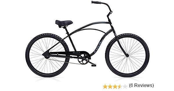 Electra &apos Cruiser 1 Tall Hombre Rueda de Bicicleta 26 Negro ...