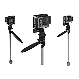 Portable Handheld Mini Video Stabilizer (Gimbal) for ANY Smart Phone or Digital Video Camera Capture Device - Create Professional Action Videos Like a Pro - Simple to Use - Conveniently Folds Into You