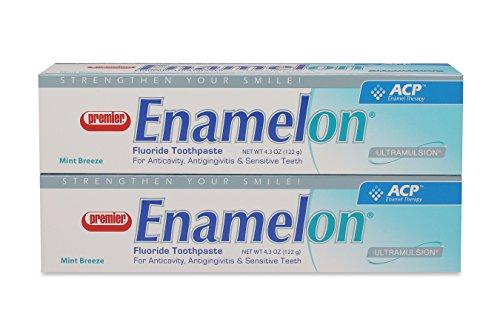 Premier 9007270 Enamelon Toothpaste Mint Breeze, 122 g, White (Pack of 2) by Premier