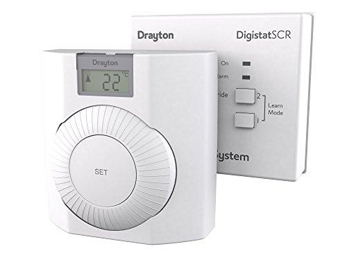 Drayton RF601 Thermostat, White