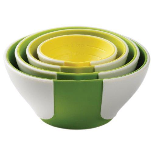 Chefs Resource Chef'n SleekStor Pinch+Pour Prep Bowl Set ...