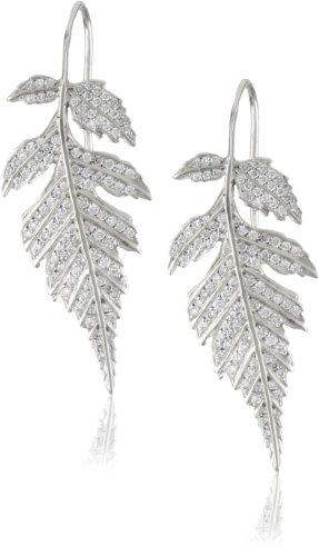 """Colette Steckel """"Feuille"""" 18k Gold Colette Steckel 's Logo Leafs Hook Earrings"""