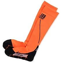 CEP Women's Progressive+ 2.0 Run Compression Socks (Flash Orange/Black - III) by CEP