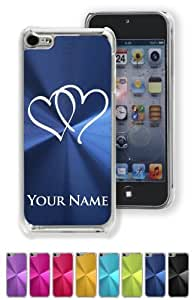 Case/Cover for iPhone 5C - HEARTS TWINS - Personalized for FREE (Click the CONTACT SELLER link after purchase and send a message with your case color and engraving request)