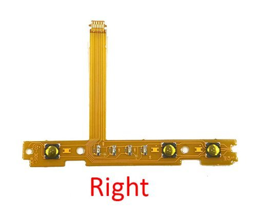 - Replacement SL SR Right Left Button Ribbon Flex Cable For Nintendo Switch NS Joy-Con Controller (Right)