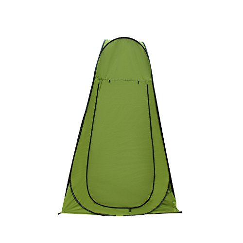 Blanmour Pop Up Camping Shower Tent Portable Dressing Changing Toilet Room Privacy Shelter Tents for Outdoor Camping Beach Toilet and Indoor Photo Sho by Blanmour