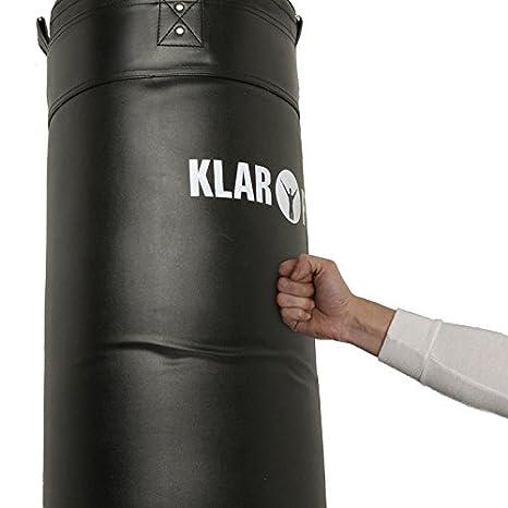 55dbba44b Klarfit Kit Musculation   Sac de Frappe Punching Ball Boxe et Barre de Traction  Murale (350 Kilos Max