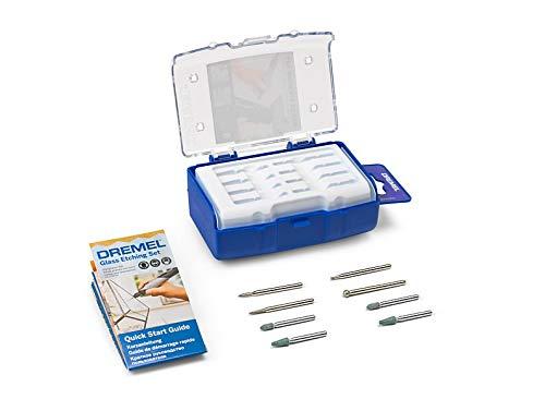 Dremel 2615C682JA Set de 8 outils multifonction en verre