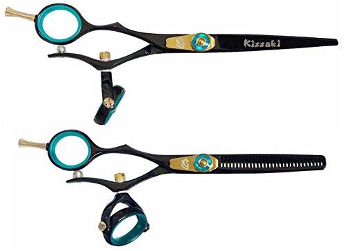 """Kissaki Left handed Hair Shears Gokatana L 6.0"""" & Kanagawa L"""