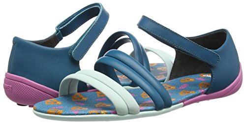 Camper Women's Peu Circuitsandal Sandal, Turquoise Aqua, 39 EU/9 M US by Camper (Image #5)