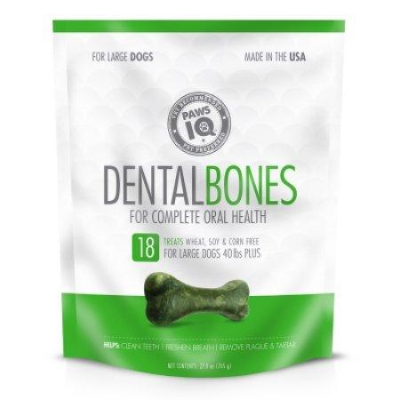 (Paws IQ Dental Bones Large - 27oz)