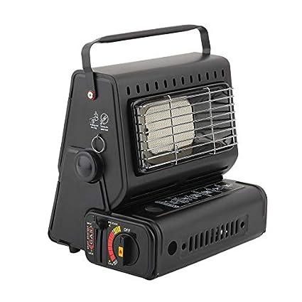 Yogasada Quemador portátil Calentador Estufa Calentador de Gas Calentador de Camping Calentador Estufa de Gas para