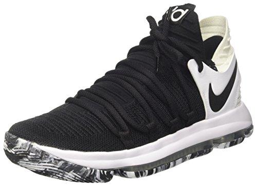 Nike Mens Zoom Kdx Scarpe Da Basket Nero / Nero / Bianco