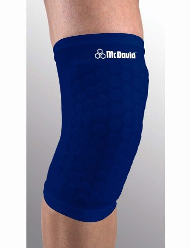 195b8cff4d Amazon.com: McDavid Hex Force Knee/Shin/Elbow Multipurpose Pad - Black  Large: Sports & Outdoors