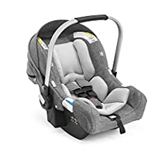 Combining style and safety, the StokkePIPAby NunaInfant Car Seat gives your baby superior comfort and protection no matter where your travels take you. This ultra light car seat includes an adjustable 5 point safety harness, and an integra...