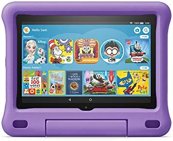 "All-new Fire HD 8 Kids Edition Tablet, 8"" HD Display, 32 GB, Purple Kid-Proof Case"