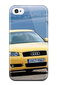 New Style Case Cover STSioVo2004LEAhj Audi A3 11 Compatible With Iphone 4/4s Protection Case