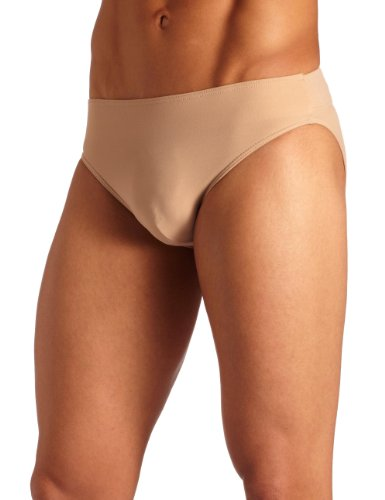 Capezio Men's Full-seat Dance Brief, Nude, Large]()
