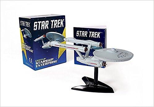 star trek light up phaser miniature editions