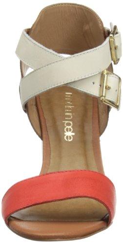 Mode Mention - Sandalias de vestir Mujer Coral