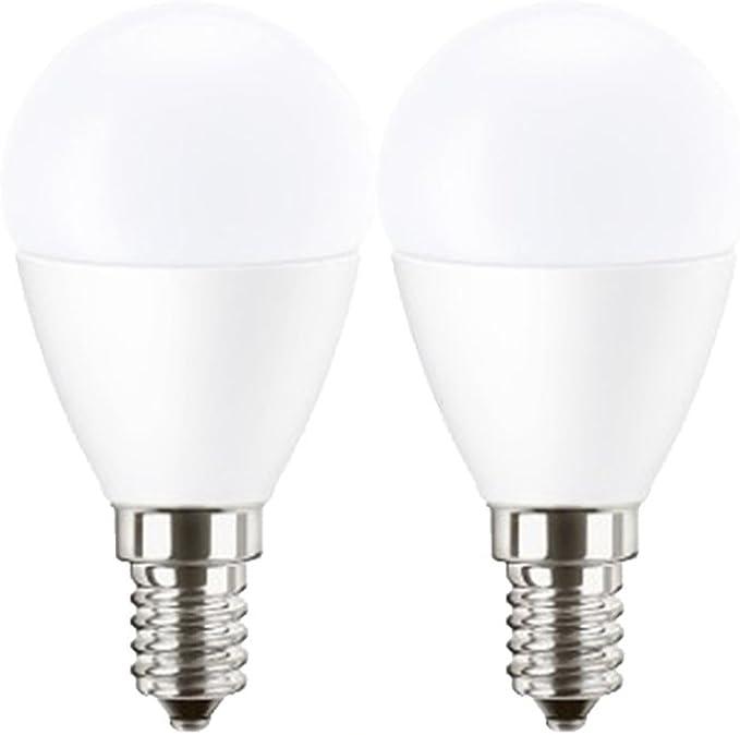 6 x Attralux LED Leuchtmittel Kerze 3,3W = 25W E14 klar B35 warmweiß 2700K