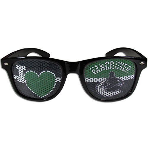 NHL Vancouver Canucks I Heart Game Day Shades, - Vancouver Optical