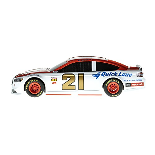 Slot Car Nascar Racing (Lionel Racing 15074 NASCAR Authentics 2018 Paul Menard #21 Motorcraft Lionel Racing Diecast, White, Red, Gold, Black; 1: 24 Scale)