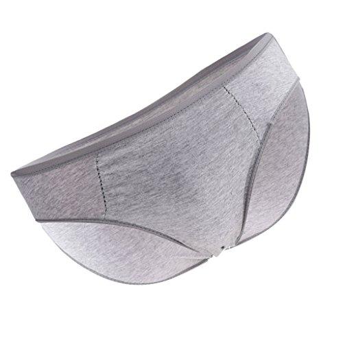 Baoblaze 1 pieza de Ropa Interior Desechables para Hombres cómodo Suave SPA Viaje - gris XXL: Amazon.es: Salud y cuidado personal