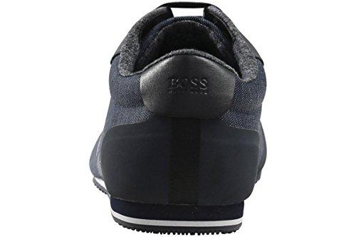 Hugo Boss Mens Lighter_lowp_dnc 10199154 01 Sneakers Stringate 50370186-401 Blu Scuro