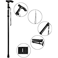 Sminiker Professional Folding Walking Canes w/Carrying Bag