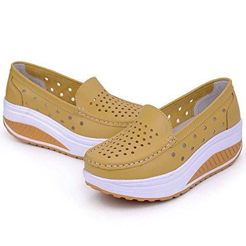 WYSBAOSHU - Zapatillas de Material Sintético para mujer, color azul, talla 38 EU