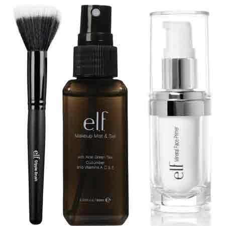 elf Studio Mineral Infused Face Primer With Makeup Mist and