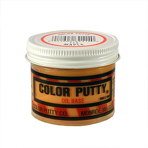 Color Putty Company 114 Color Putty, 3.68-Ounce, Maple (Maple Wood Putty)