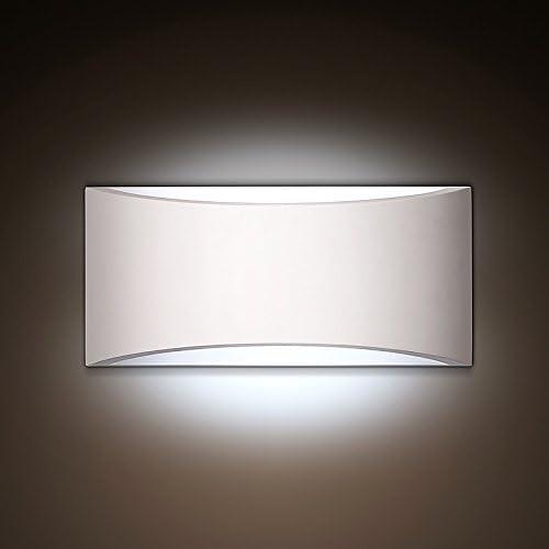 Moderne Minimaliste Design plâtre Luminaire Applique Murale ...