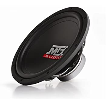 "MTX Audio TN12-04 12"" Single 4 ohm Terminator Series Subwoofer"