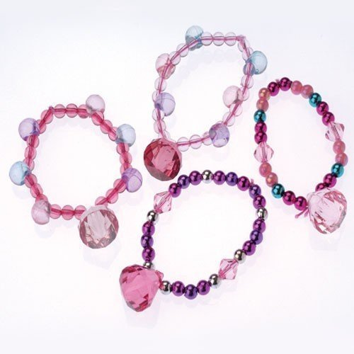 Toy Kid Fun Princess Party Favor and Dress Up Set 12 Jewel Necklaces and 12 Jewel Bracelets U.S