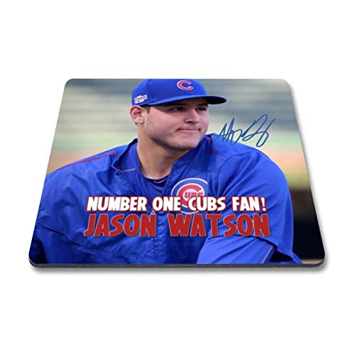 Star Prints UK Anthony Rizzo - Chicago Cubs - MLB 1 Personalised Gift Fridge Magnet Autograph Print (with Personalised Message)