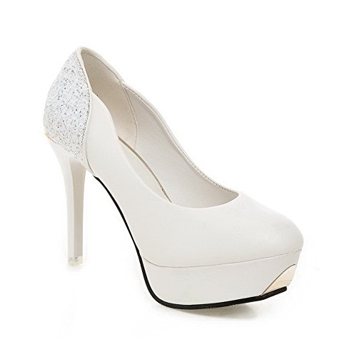 Zapatos mujer Blanco BalaMasa cerrados Para S8dznzqx71