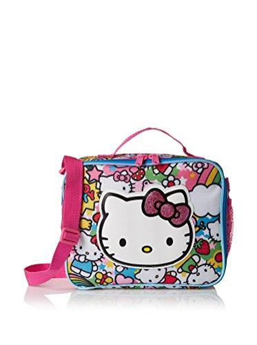 Hello Kitty Girl's Rainbow Party Lunch Kit, Multi