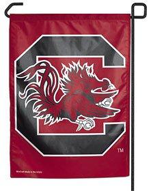 NCAA University of South Carolina WCR16146011 Garden Flag, 11