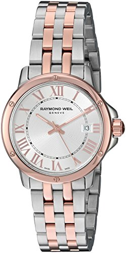 Raymond Weil Women's 'Tango' Swiss Quartz Stainless Steel Dress Watch, Color:Two Tone (Model: 5391-SB5-00658)