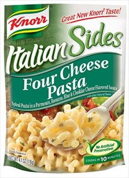 Knorr Italian Sides Four Cheese Pasta 4.1 oz