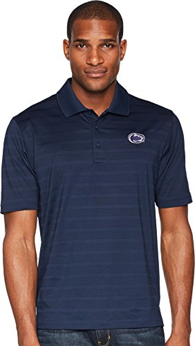 Champion College Men's Penn State Nittany Lions Textured Solid Polo Navy XX-Large ()