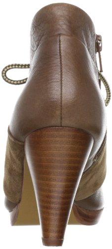 No Name Neo Boots Laces - Botas de cuero para mujer Marrón (Braun (Marron (Coffee black)))